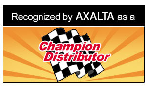 Recognized as a Champion Distributor
